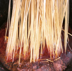 Mutton Spaghetti