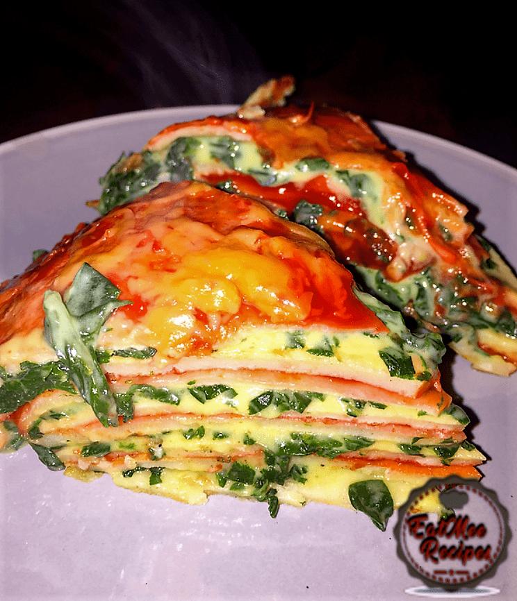 Swiss Chard Crêpe Lasagne