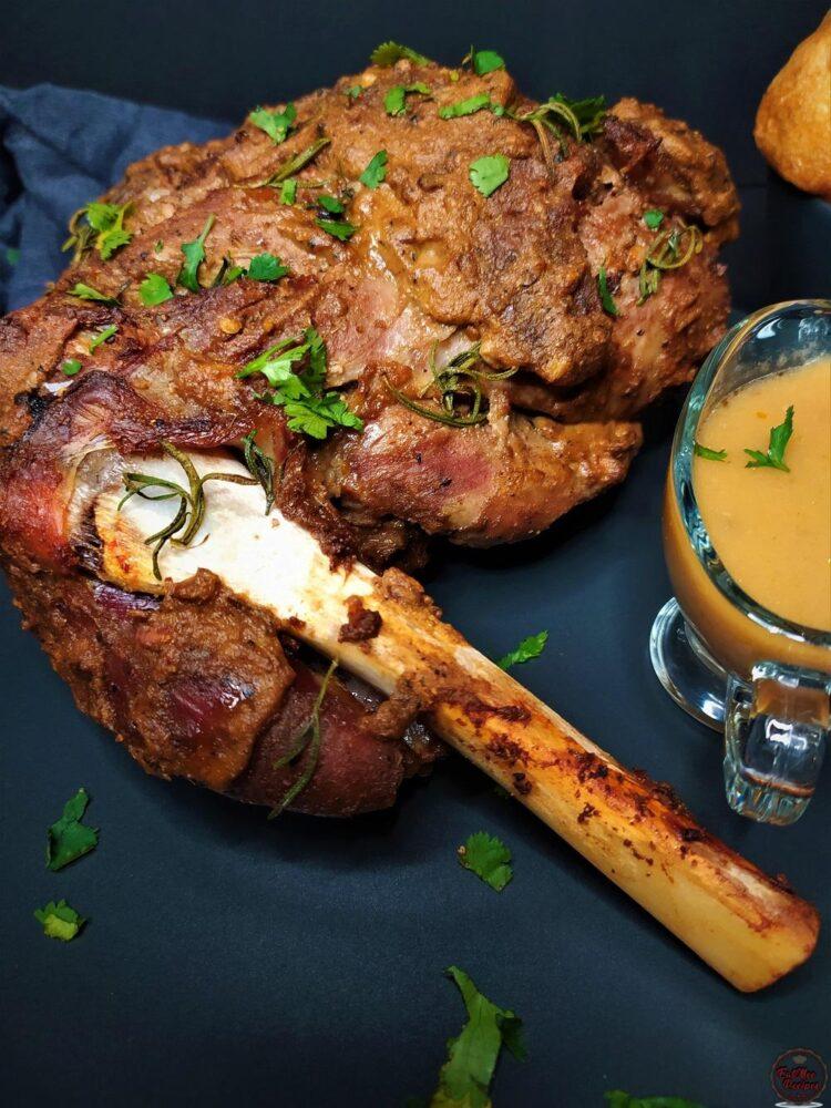Spiced Roast Leg Of Lamb