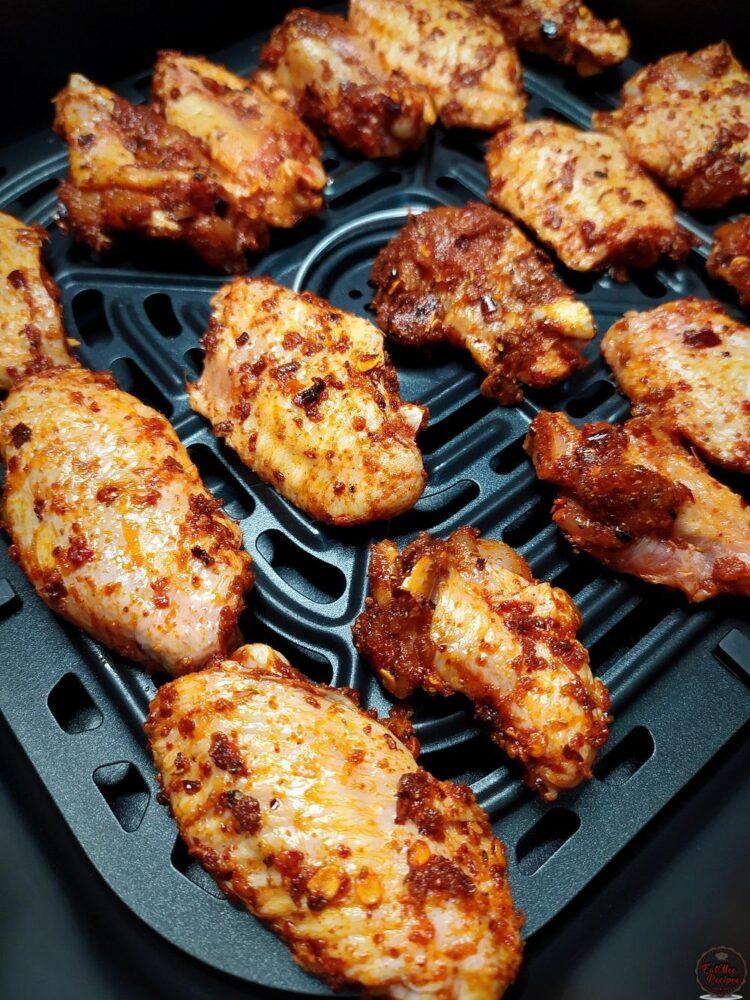 Air Fried Masala Chicken Wings